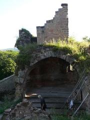 Ruines du château de Schoeneck -  P1080515