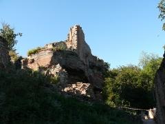 Ruines du château de Schoeneck -  P1080489