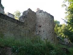 Ruines du château de Schoeneck -  P1080585