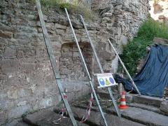 Ruines du château de Schoeneck -  P1080504