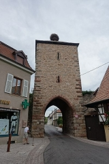 Vestiges des anciennes fortifications -  Gate @ Dambach @ Alsace