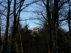 Sommet et musée du Donon -  Temple du Donon