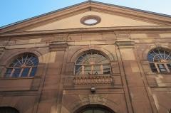 Synagogue - Deutsch: Synagoge in Hagenau im Département Bas-Rhin (Elsass) in der Region Grand Est/Frankreich