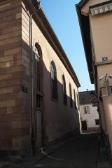 Synagogue - Deutsch: Synagoge in Hagenau im Département Bas-Rhin (Elsass) in der Region Grand Est/Frankreich, Rue de la Synagogue (Schuelgàss)