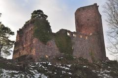 Vestiges du château de Landsberg -  Le Landsberg