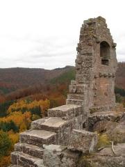 Ruines du château de Fleckenstein -  Fleckenstein Castle, Alsace/France