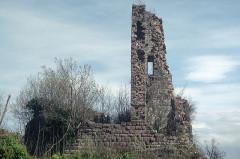 Ruines du château Guirbaden - Deutsch: Burg Girbaden
