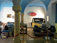 Ancienne chartreuse - Fondation Bugatti (musée de la Chartreuse, Molsheim): types 35 et 57