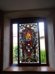 Ancienne chartreuse - Vitrail dans la Chartreuse de Molsheim
