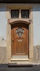 Maison -  Et sa coquille, un des symboles des plus connus du style renaissance.