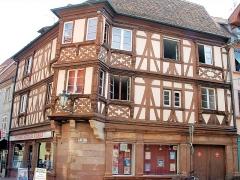 Maison - Français:   Molsheim - Ancien siège de la corporation des boulangers