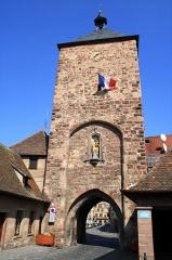 Enceinte médiévale de la ville (vestiges du mur) - English: Molsheim, Alsace, Blacksmith's gate