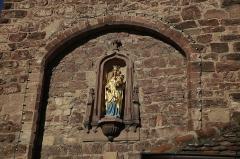 Enceinte médiévale de la ville (vestiges du mur) -  Porte des Forgerons (Molsheim)