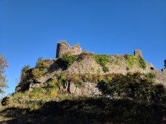 Ruines du château du Frankenbourg -  we once saw you
