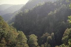 Ruines du château du Nideck - Deutsch: Landschaft beim Wasserfall von Nideck