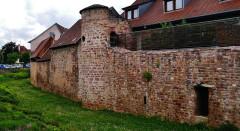 Vieux remparts - Deutsch: Stadtmauer, Obernai, Elsass, Frankreich