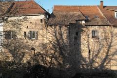 Vieux remparts - Deutsch: Stadtmauer in Obernai im Département Bas-Rhin in der Region Grand Est (Frankreich)