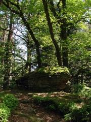 Mur païen -  Une vue le long du circuit Sud du Mur Païen.