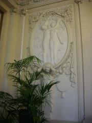 Hôtel de ville - Français:   Hôtel de ville de Reims (Marne, France), salle des cérémonies