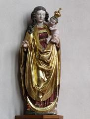 Ancienne église des Jésuites, ou église catholique Saint-Georges - Français:   Alsace, Bas-Rhin, Église Saint-Georges de Molsheim, ancienne église des Jésuites (1618) (PA00084798, IA67006097).  Statue de la Vierge à l\'enfant (XVIe):        This object is classé Monument Historique in the base Palissy, database of the French furniture patrimony of the French ministry of culture,under the referencesPM67000754 and IM67009678. беларуская (тарашкевіца)| brezhoneg| català| Deutsch| English| español| suomi| français| magyar| italiano| македонски| Plattdüütsch| português| українська| +/−