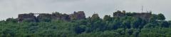 Ruines du château de Hohbarr ou Haut-Barr - Deutsch: Château du Haut-Barr, von Osten aus gesehen.