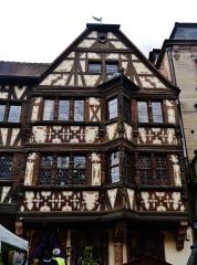 Maison Katz - Deutsch: Haus Katz, Zabern, Elsass, Frankreich