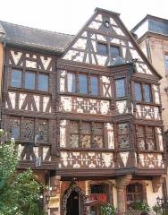 Maison Katz - Deutsch: Haus in der Innenstadt (maison Katz)  von Saverne  Benutzer:FloSch