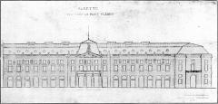 Bâtiment de l'Aubette - English: Aubette, Strasbourg, front view.