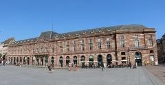 Bâtiment de l'Aubette - Français:   Aubette de Strasbourg.