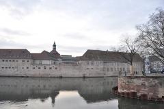 Ancienne commanderie Saint-Jean -  Fossé du faux rempar