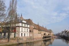 Ancienne douane -  L`Ill, Strasbourg, Alsace, France