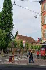 Eglise catholique Saint-Jean-Baptiste - English: Strasbourg - Rue du 22 Novembre - View NNE on Eglise St-Jean de Strasbourg