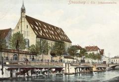 Eglise catholique Saint-Jean-Baptiste - Deutsch: Strassburg i. E. - Johannesstaden. Bibliothèque nationale et universitaire de Strasbourg