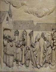 Eglise protestante Saint-Pierre-le-Vieux - Alsace, Bas-Rhin, Église Saint-Pierre-le-Vieux de Strasbourg (PA00085031). Bas-relief