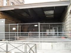 Gare ferroviaire centrale -  Futur débouché du tunnel passant sous les voies de la gare de Strasbourg