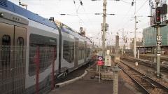 Gare ferroviaire centrale - Français:   Présentation de la première rame Régiolis en gare de Strasbourg, décembre 2011
