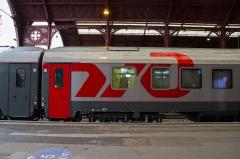 Gare ferroviaire centrale - Inauguration de la liaison ferroviaire Paris-Strasbourg-Moscou en gare de Strasbourg le 9 avril 2013.