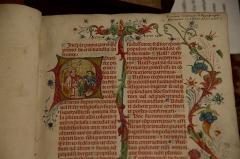 Grand Séminaire - La bibliothèque du Grand Séminaire de Strasbourg.  Conservateur: Louis Schlaefli.