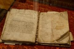 Grand Séminaire - Bède le Vénérable, De natura rerum (Ms 31/3), page de titre (IXe-Xe s.), à la bibliothèque du Grand Séminaire de Strasbourg.  Conservateur: Louis Schlaefli.