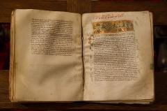Grand Séminaire - Bible grecque du XIe siècle offerte par la duchesse d'Andlau