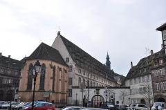 Ancien Hôpital Civil, actuellement Hôpital Universitaire de Strasbourg -  Hôpital Civil de Strasbourg, France.