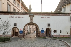 Ancien Hôpital Civil, actuellement Hôpital Universitaire de Strasbourg -  Strasbourg, Hôpital
