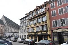 Ancien Hôpital Civil, actuellement Hôpital Universitaire de Strasbourg - English: