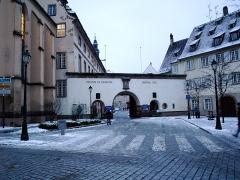 Ancien Hôpital Civil, actuellement Hôpital Universitaire de Strasbourg -  La porte de l'hopital de Strasbourg