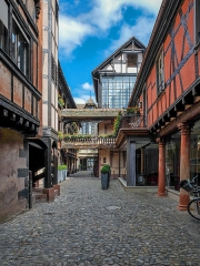 Cour du Corbeau ou Hôtel dit du Corbeau - English: Straßburg