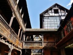Cour du Corbeau ou Hôtel dit du Corbeau - Deutsch: Cour du Corbeau, Straßburg, Elsass, Frankreich