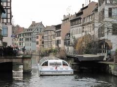 Maison - English: Swing bridge of