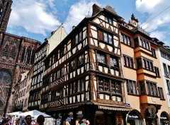 Maison - Deutsch: Altstadt von Straßburg, Elsass, Frankreich