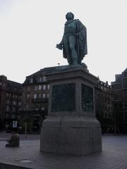 Monument du général Kléber - English:  photograph taken in Strasbourg in february 2014.