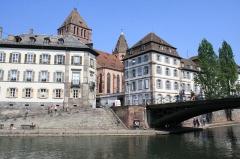 Pont Saint-Thomas -  Église St-Thomas et Pont St-Thomas, Strasbourg